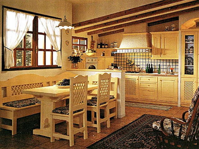 Кухня в стиле Прованс 4.