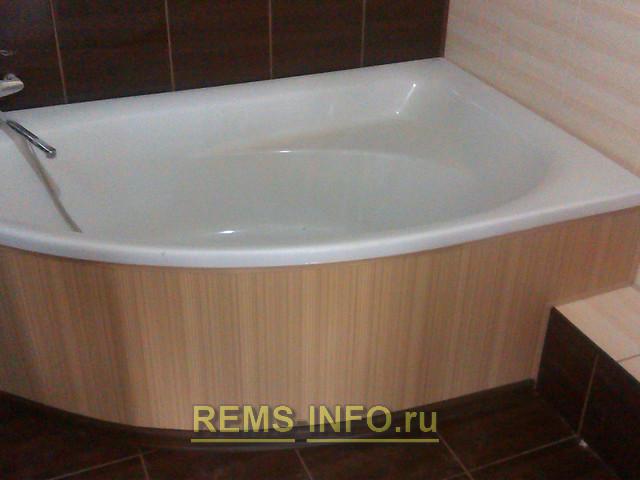 Угловая ванна своими руками фото 463