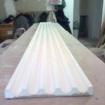 Пилястр с которого будем делать форму для изготовления копий гипсовых изделий.