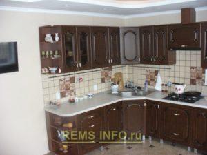 Фото угловой кухни1
