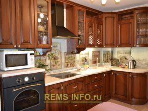 Кухня в классическом стиле6