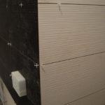 сведение углов при укладке плитки на стены.