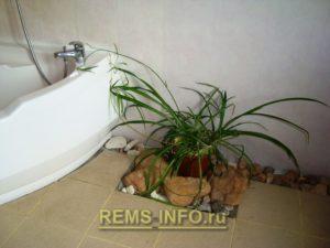 Интересный интерьер ванной01