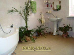 Интересный интерьер ванной03