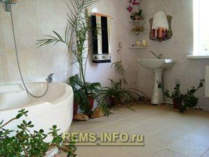 Интересный интерьер ванной06