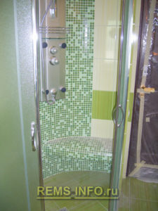 Ремонт маленькой ванной комнаты фото4
