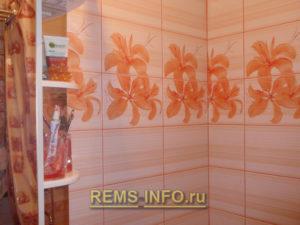 Ремонт маленькой ванной комнаты фото41