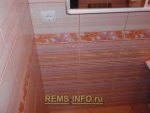 Ремонт маленькой ванной комнаты фото42