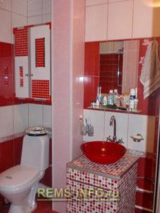 Ремонт маленькой ванной комнаты фото46