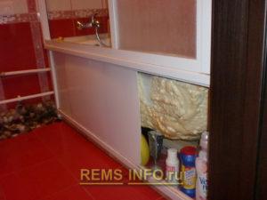 Ремонт маленькой ванной комнаты фото49