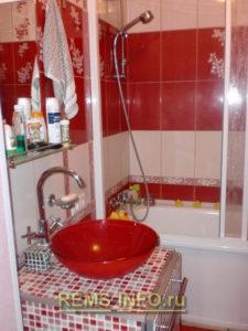 Ремонт маленькой ванной комнаты фото50