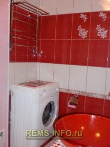 Ремонт маленькой ванной комнаты фото51