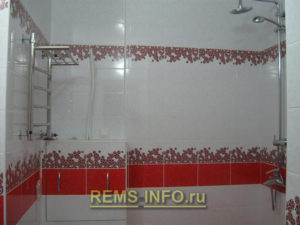 Ремонт маленькой ванной комнаты фото7