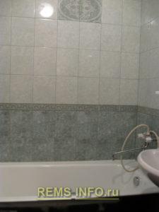 Ремонт маленькой ванной комнаты фото8