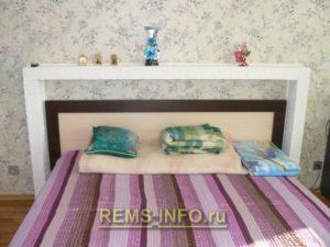 Ремонт спальни фото4