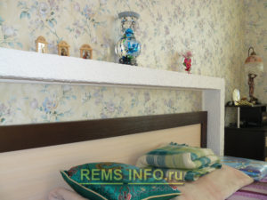Ремонт спальни фото7
