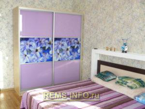Ремонт спальни фото11