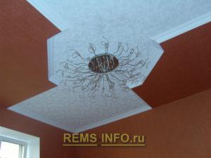 Подвесные потолки из гипсокартона фото8