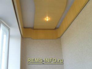 Подвесные потолки из гипсокартона фото13