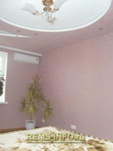 Подвесные потолки из гипсокартона фото17