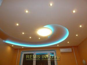 Спиральный потолок1