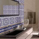 Дизайн плитки в ванной комнате.