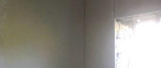 Монтаж гипсокартона на стены.