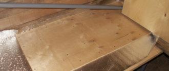 устройство пола в деревянном доме.