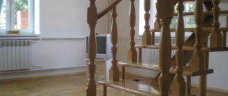 Лестница на одном косоуре.