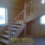 Лестница на второй этаж своими руками - фото.