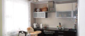 Проходная кухня - фото.