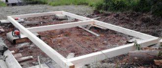 Как построить баню - строительство бани своими руками.