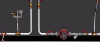 Однотрубная система отопления частного дома.