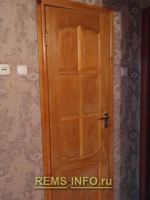 Декорирование межкомнатных дверей своими руками.