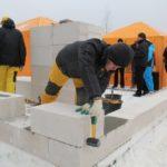 Зимний клей для газобетона и его применение в строительстве.