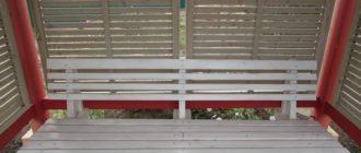 Садовая скамейка своими руками из дерева - чертежи и фото.