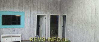 Отделка стен досками – фото интерьера.