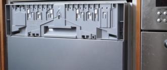 Установка встраиваемой посудомоечной машины bosch