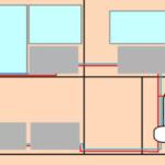 Установка центрального отопления