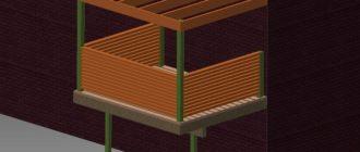 Как сделать балкон-террасу