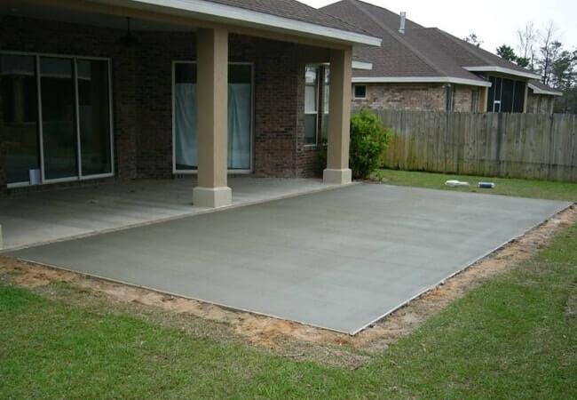 Бетон залить двор рециклинг бетона казань